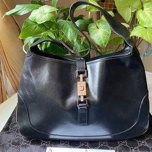 Gucci Medium Jackie O Leather Hobo 🖤